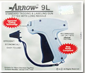 Arrow 9l tag gun package front view