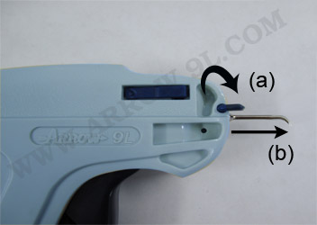 how to replace damaged needle in arrow 9l tag gun